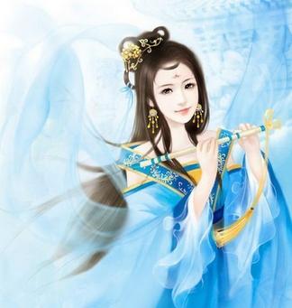 古代手绘公主美女